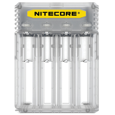 Nitecore Intellicharger Q4 - Clear