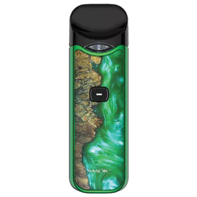 Smok Nord Pod System - Green Stabilized Wood - PRE ORDER