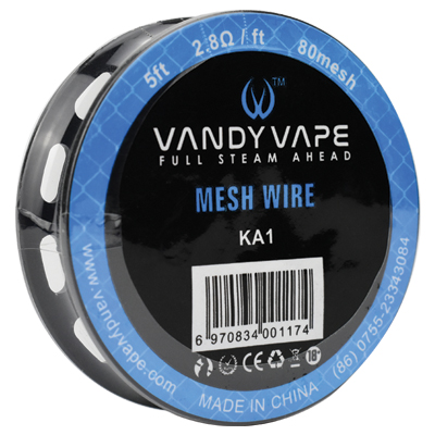 Vandy Vape A1 Mesh Wire 80Mesh 5ft
