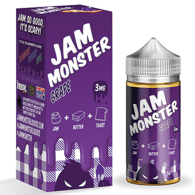 International - Jam Monster Grape 3mg 100ml