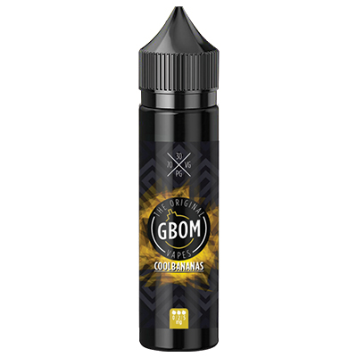Local - GBOM Cool Bananas 0mg 60ml