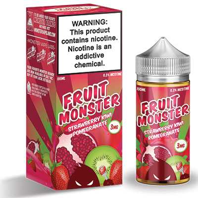 International - Fruit Monster Strawberry Kiwi Pomegranate 3mg 100ml
