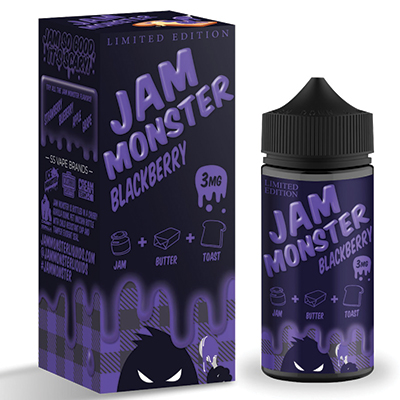 International - Jam Monster Blackberry 3mg 100ml