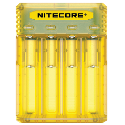 Nitecore Intellicharger Q4 - Yellow