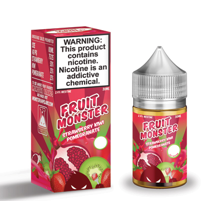 International - Fruit Monster Strawberry Kiwi Pomegranate Salts 24mg 30ml