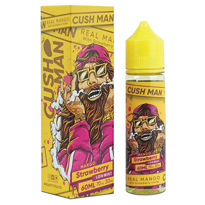 International - Nasty Cushman Series - Mango Strawberry 0mg 60ml - Low Mint