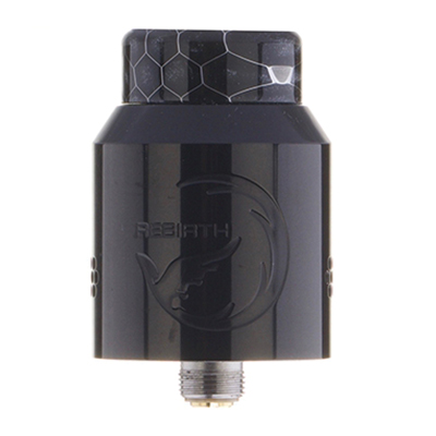 Hellvape Rebirth RDA - Piano Black