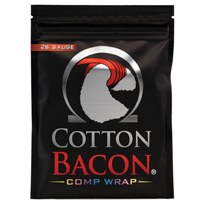 Cotton Bacon Comp Wrap 26G 1 x 1