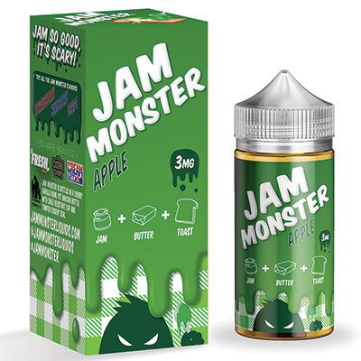 International - Jam Monster Apple 3mg 100ml