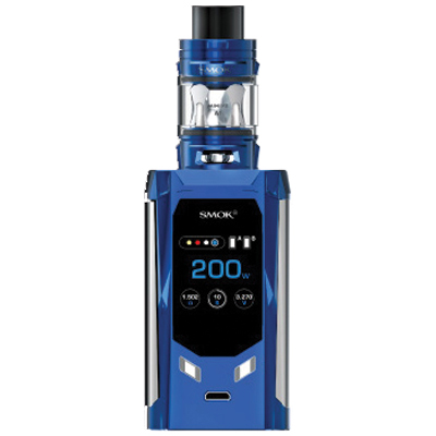 Smok R-Kiss 200W Kit - Navy Blue Chrome