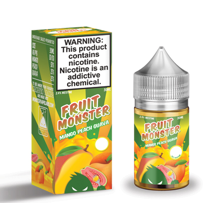 International - Fruit Monster Mango Peach Guava Salts 48mg 30ml
