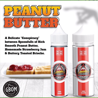 Local - Conspiracy Peanut Butter 0mg 120ml