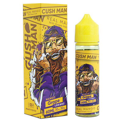 International - Nasty Cushman Series - Mango Grape 6mg 60ml - Low Mint