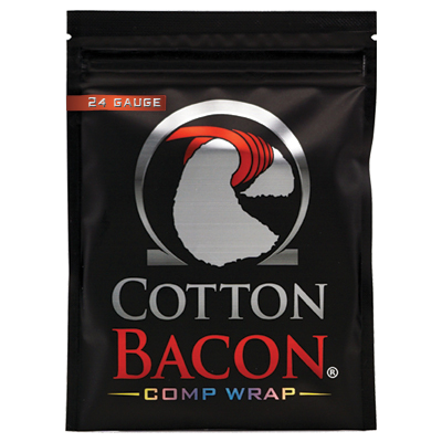 Cotton Bacon Comp Wrap 24G 1 x 1
