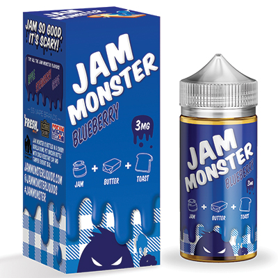 International - Jam Monster Blueberry 3mg 100ml