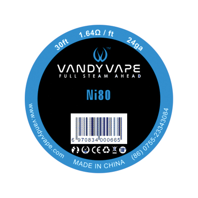 Vandy Vape Ni80 24G 30ft