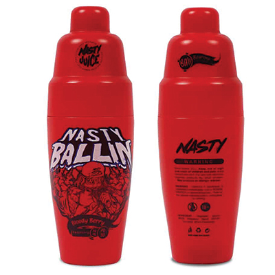 International - Nasty Ballin Series - Bloody Berry 6mg 60ml